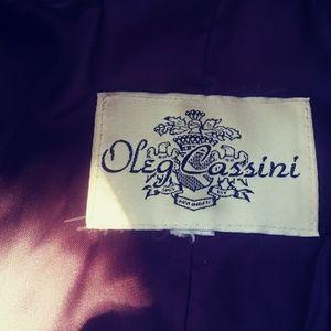 Oleg Cassini Jackets & Coats - Oleg Cassini fur coat